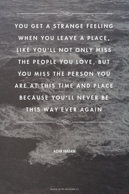 Placesyouleave