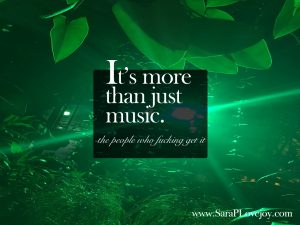 It's more than just music